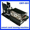 Synco ic/rfid/lire la carte magnétique/Écrivez kiosque lecteur de carte et l'émission crt-591 machine