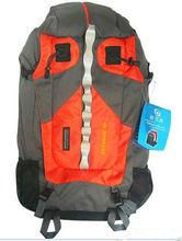 50L Waterproof Internal Frame Climbing backpack Camping Hiking Backpack Orange