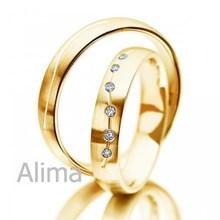 Agr0025- y- 18 carati giallo oro anello nuovo modello 1,5 carati di diamanti anello di fidanzamento