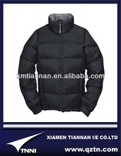 black thick down jaket thermal for winter mens stylish blazer