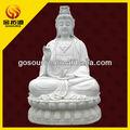 grande pietra di marmo statua di buddha