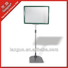 Counter metal display rack