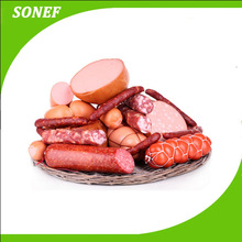 sausage used soy protein isolate