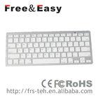 2013 Multi-language mini QWERTY bluetooth keyboard with usb port