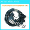 Cisco Compatible Cable CAB-OCT-X21MT 8 Lead Octal Cable 10FT length