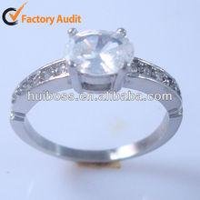 HBNR02220 SALE Rare White Diamond White Gold Jewelry Vintage Victorian Engagement Ring
