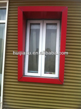pvc window profile for pvc windows in Guangzhou foctory price promotion upvc windows