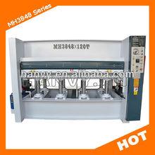 wooden door hot press machine