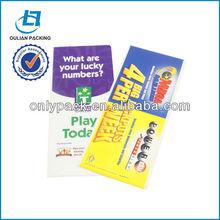 USA PVC Lottery Slip Protector Ticket Holder