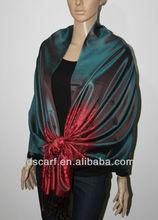 Einfaches design partykleid jds- 131# elegante Glanz und seide hijab