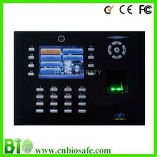 Swiping Card Single Lens Reflex Cameras Fingerprint Time Recorder Nideka (HF-Iclock680)