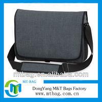 Durable 600D brand name plain high quality messenger bags men
