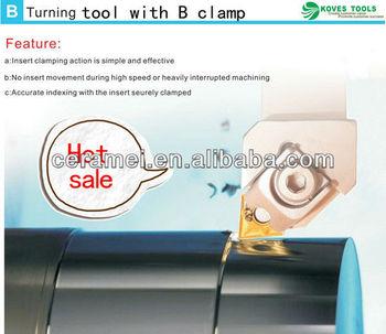 B clamp external turning tool lathe machine parts cutting tool