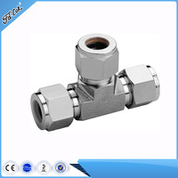 SS316 3 way elbow pipe fittings
