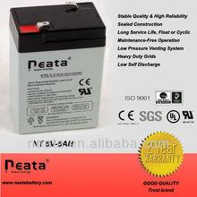 NEATA 6v5ah sealed vrla battery