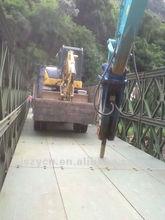 single steel bridges