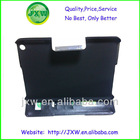Stand leather wallet case for mini ipad
