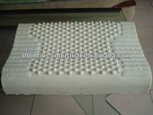Bamboo covered natural latex pillow for furniture