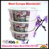 44oz Custom Disposable Fruit Salad Bowl With Lid