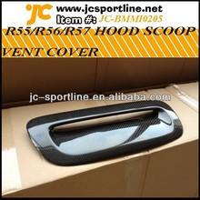 R55/56/57 Car Carbon Hoods Vents for BMW MINI Engine Hoods Vents