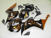 Fairing Kit For HONDA CBR1000RR 2006 2007 Orange Flame Fairing Kit