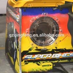 Popular sale arcade Driving car game machine MR-QF010 FF motor 42 LCD