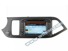 WITSON car dvd KIA MORNING gps player with SD card for Music and Movie