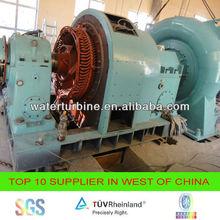 1MW francis hydro turbine generator for power plant