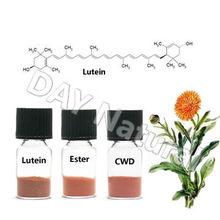 Alto padrão orgânico planta extrato luteína Xanthin de flor de calêndula