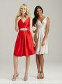 2013 arriva novo decote v cetim natual cintura vestido da dama de honra 2013( bdal- 4001)