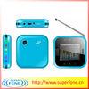 Q7 cheap low end mobile phone 1.77inch TV mobile dual sim card qwerty phone