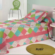 Children print polyester quilt/ patchwork quilt