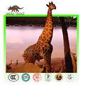 De tamaño natural Animatronic jirafa