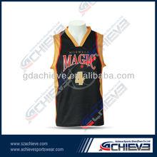 custom sublimated basketball uniform mens designs