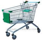 hot sales supermarket shopping trolley (European Style YRD-A80L)