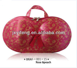 Rose EVA Travel Underwear bra bag Case Portable washing girl lingerie organizer ladies handbag tote Company