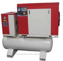 Screw compressor manufacturer, 230 460v 60hz belt/direct driven big air cooler