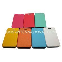 Hot Sell Leather Flip Case for BlackBerry Z10 Flip Cover