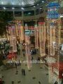 el área pública colgando de navidad festival de la luz decoraciones