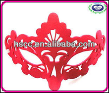 2014 Hot Sale Half Face Sexy Red Charming Party Eye Mask