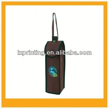 High quality 1 bottle wine non woven bag