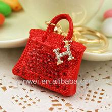 Rhinestone Handbag bag charm handbag key holder SK678