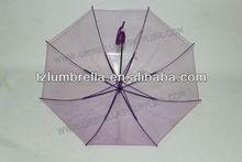 Portable Best promotion gifts Straight transparent pvc umbrella