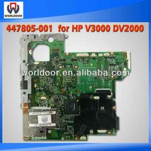 TOP quality Laptop Motherboard for HP DV2000 V3000 INTEL DDR2 447805-001
