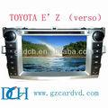 Toyota verso dvd de voiture gps pour TOYOTA ez verso WS-9184