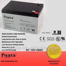 Sealed lead acid battery 12v 10ah for toy car