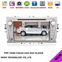 لسيارة فورد فوكس راديو السيارات مع دعم الروبوت 4.0 cpu المزدوج الأساسية