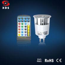 RGB LED Spotlights GU10
