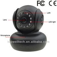 World Popular H.264 IP Camera with P2P dome camera