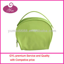 2013 promotion fresh green wholesale brand name cosmetic bag